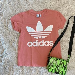 Adidas Originals Trefoil Pink T-Shirt